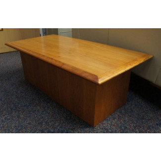 Cherry Veneer Coffee Table