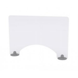 Protek Screen Two 1200w Self Supporting Protective Screen with Aperture
