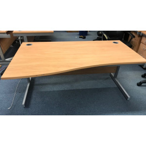 Beech L/H Wave 1600 Desk