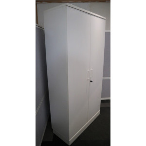 Narbutas 1960h White D/D Cupboard