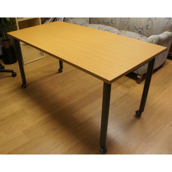Light Oak Folding Table