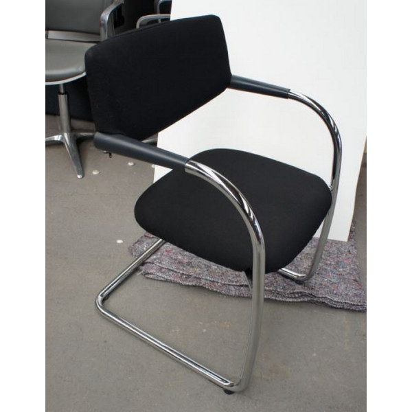 Vitra Black Meeting Chair