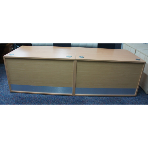 'As New' Imperial Beech Reception Counter