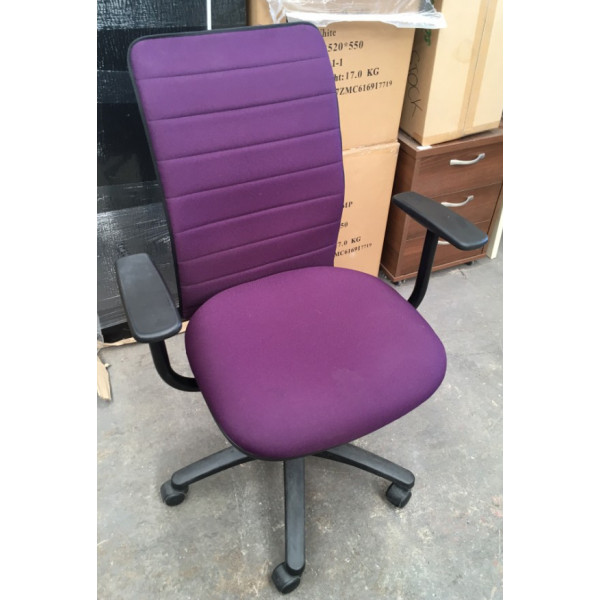 Pledge Purple Operators Chair