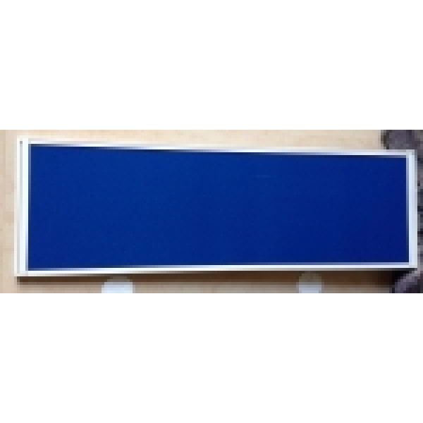 Blue 1200mm Desk Mounted Screen