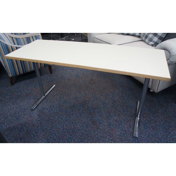HOWE Off White Folding Table