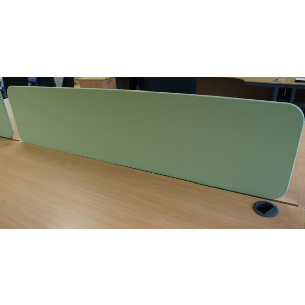 Green Desk Mounted Screen