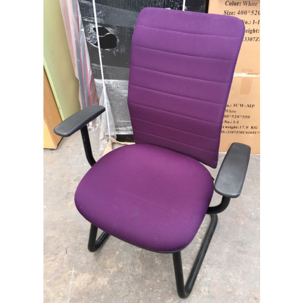 Pledge Purple Meeting Chair