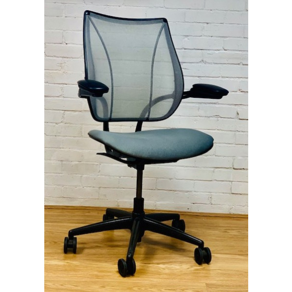 Humanscale Liberty Grey Mesh Back Operators Chair
