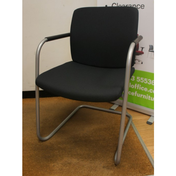 Verco Black Meeting Chair