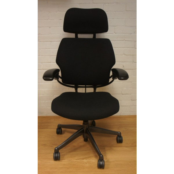 Humanscale Freedom Black Operators Chair