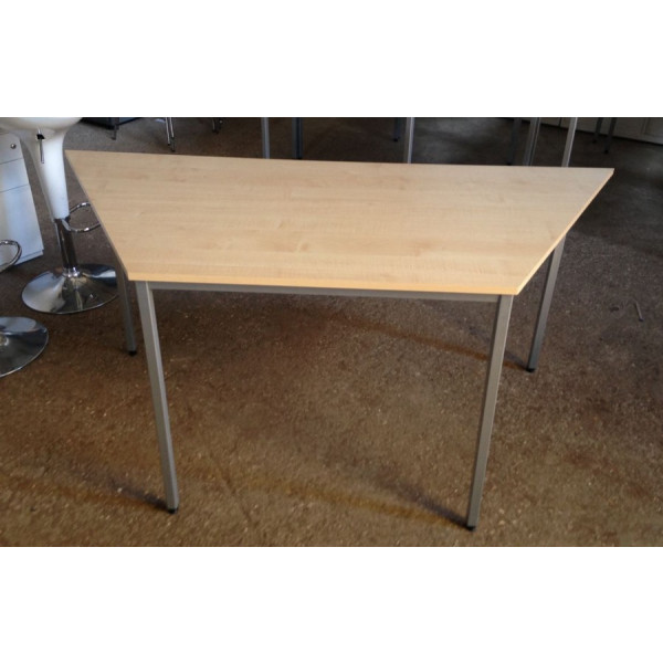 1600 x 800 Trapezoid Maple Table