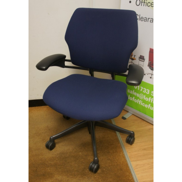 Humanscale Freedom Blue Operators Chair