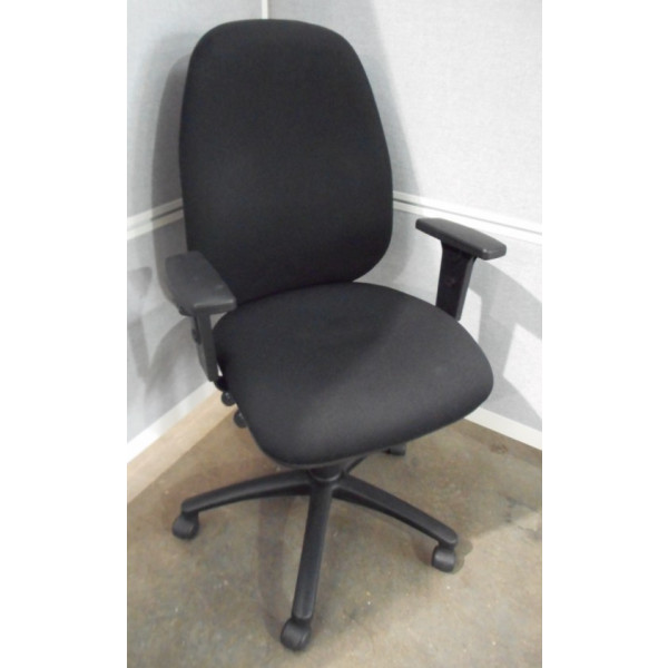 Torasen Black High Back Operators Chair