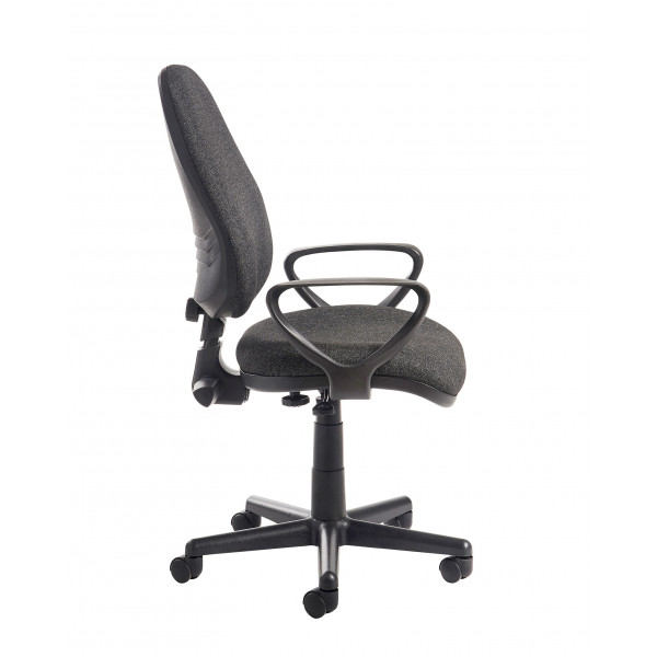 Bilbao PCB operators chair - Charcoal