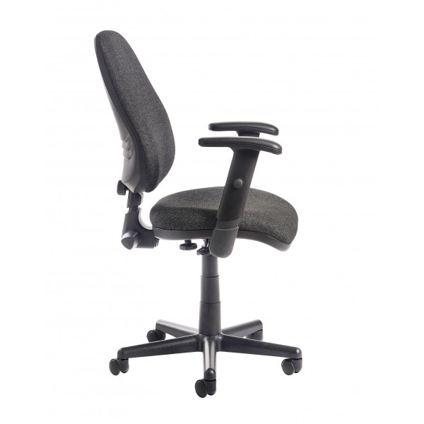 Bilbao operators chair - charcoal