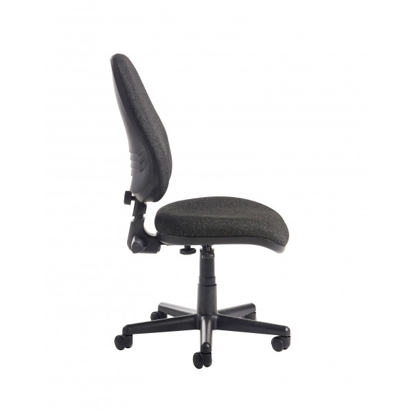 Bilbao high Back Operators Chair - Charcoal