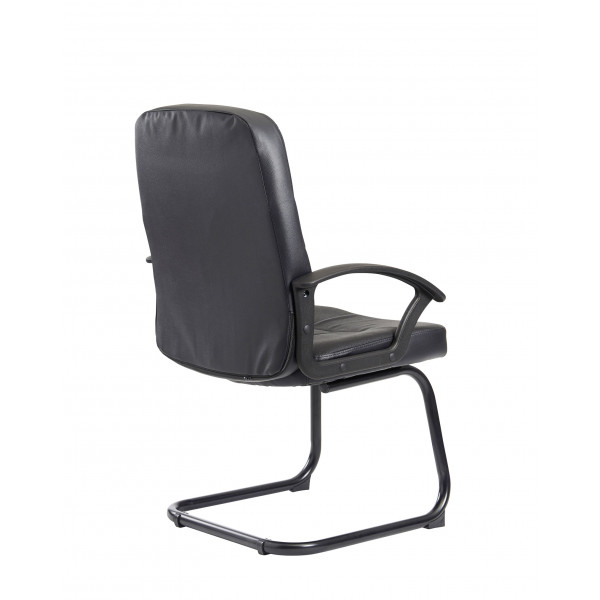 Cavalier Black frame cantilever chair
