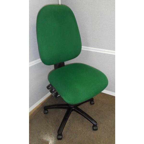Green High Back Operators Chair
