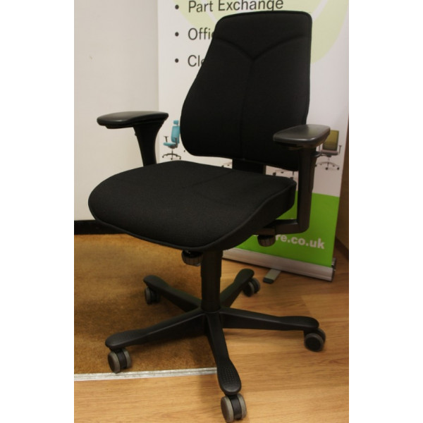 Kinnarps Black Operators Chair