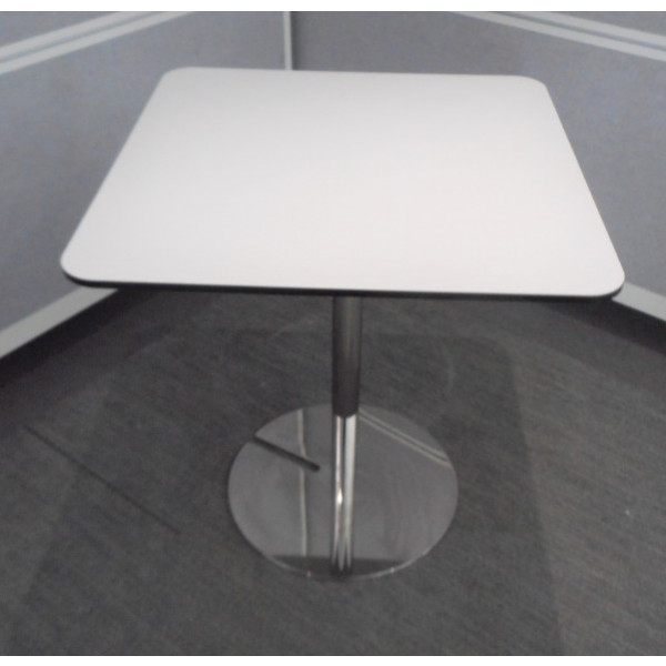 White Square Breakout Table