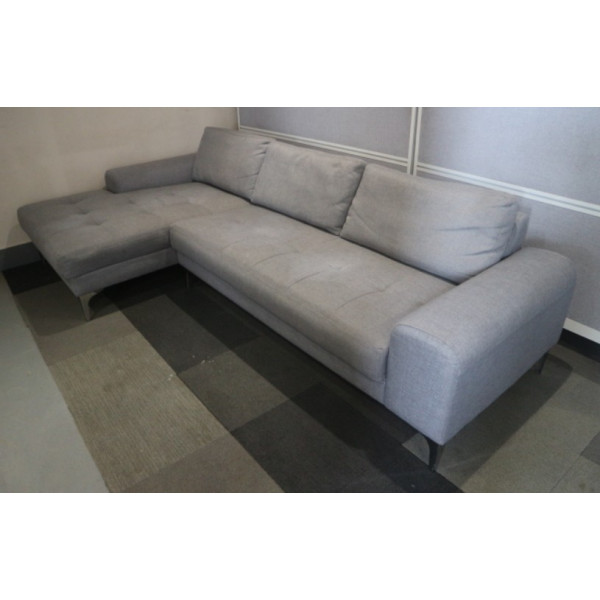 Grey L Shaped Sofa