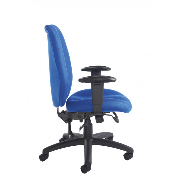 Cornwall Ergonomic Operators Chair - Blue