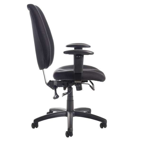 Cornwall Ergonomic Operators Chair - Black