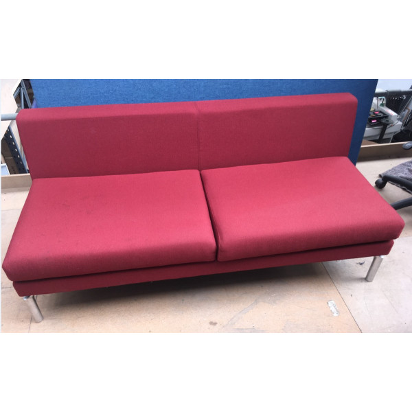 Boss Red Sofa