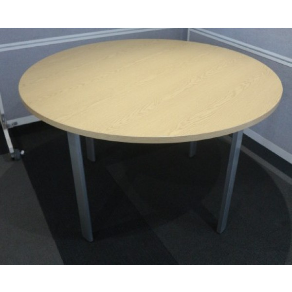 Circular Stone Oak 1200 dia Table