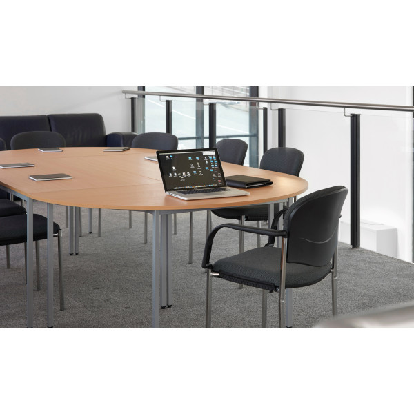 Flexi table 1200 Straight Frame - Beech