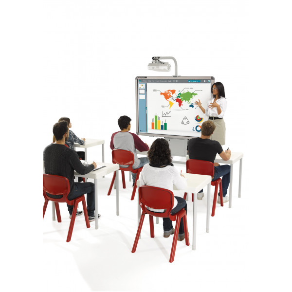 Ergos versatile one piece educational chair (box of 4)