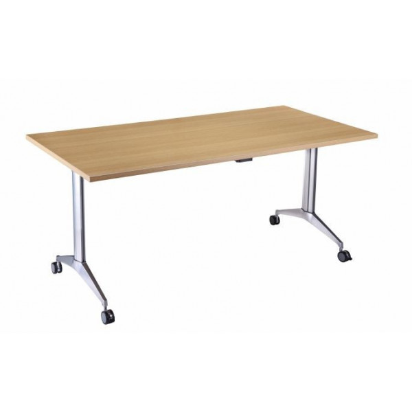 Value Light Oak 1600 Flip Top Table - EX DISPLAY