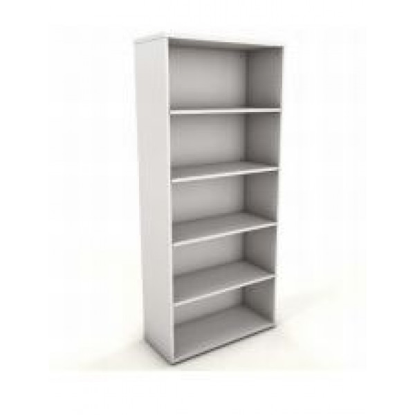 Essential Icarus White 1800h Bookcase -Ex Display