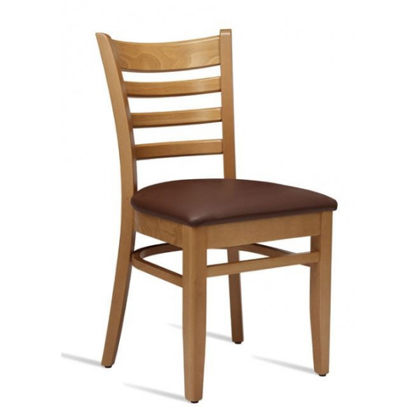 Zap Plus Light Oak Side Chair - Ex Display