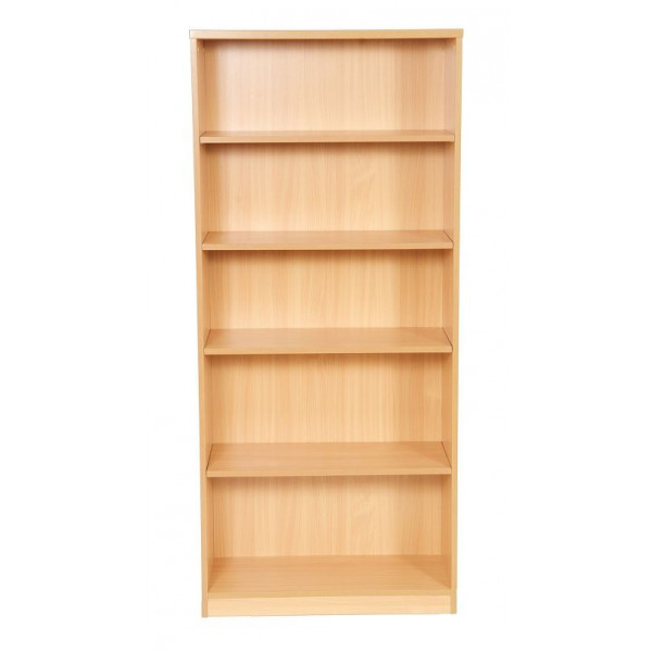 Value Beech 1800h Bookcase - Ex Display