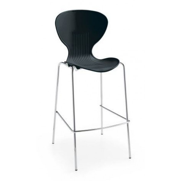 Dams Sienna Black Bistro Stool - Ex Display