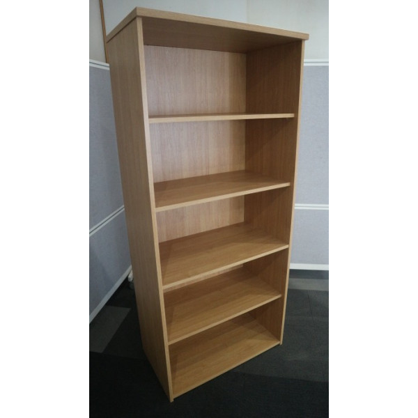 Dams Oak 1800h Bookcase - EX DISPLAY