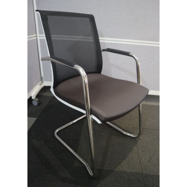 As New - Lyra Mesh Back Meeting Chair - Ex Display