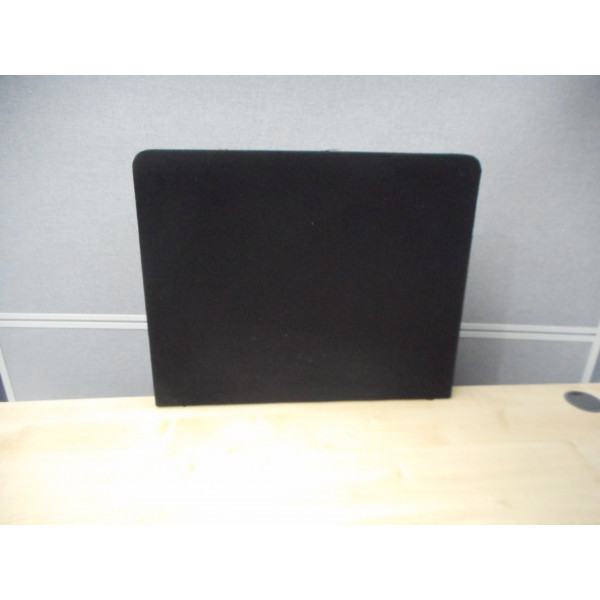 Black 600w Desk Mounted Screen