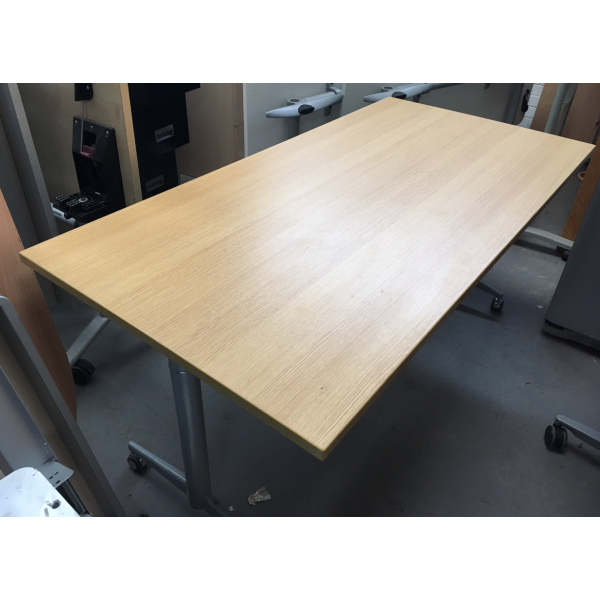 Oak Flip Top Table - Ex Display