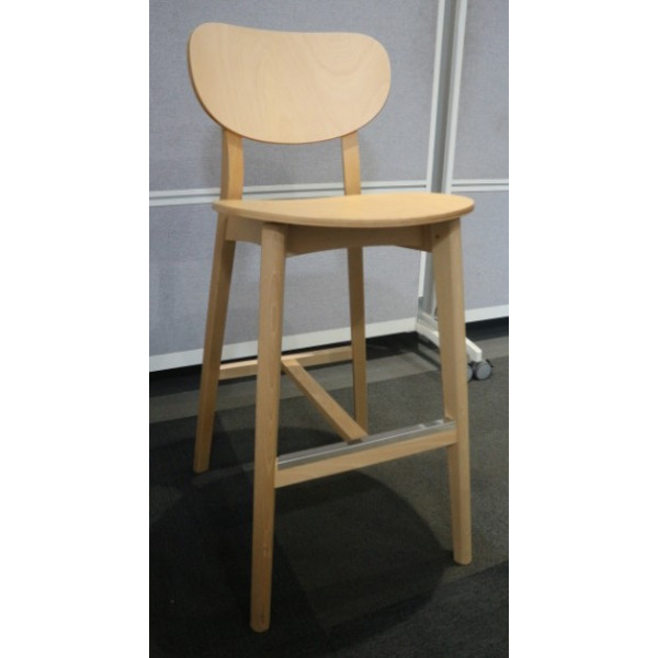 Senator Allermuir Jaicer Wooden High Stool