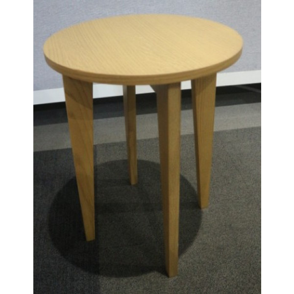 Oak Low Stool