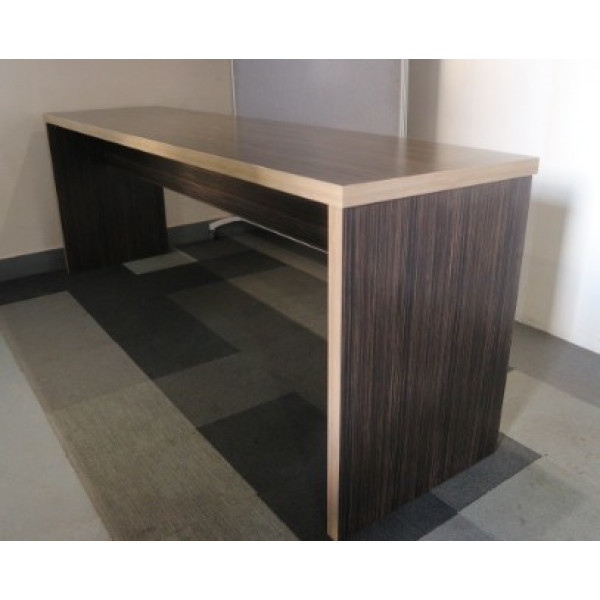 Zebrano Walnut 3000 x 750 High Bench Table
