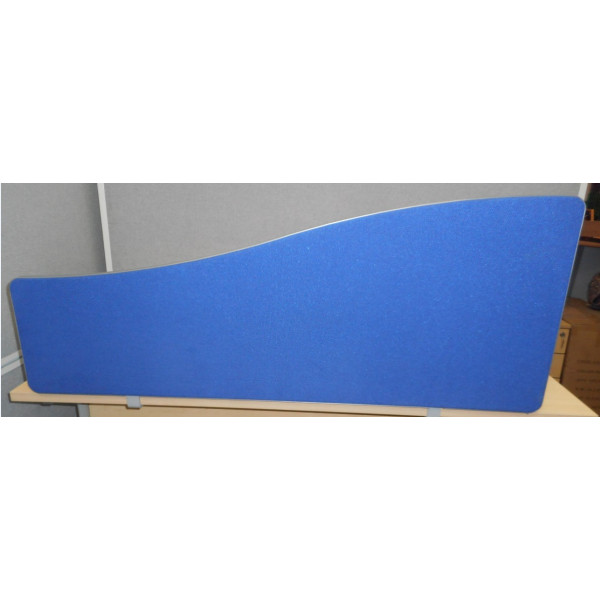 Blue 1600w Wave Desk Mounted Screen