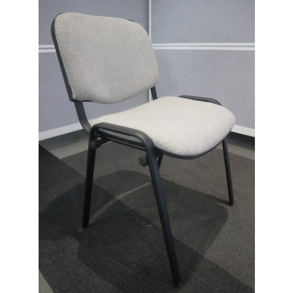 Grey E100 Meeting Chair