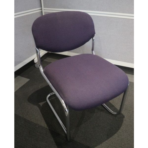 Verco Purple Meeting Chair