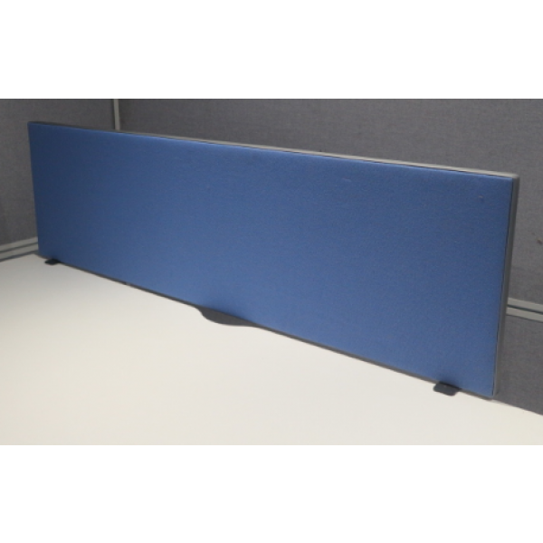 Blue 1400w Desk Mounted Screen