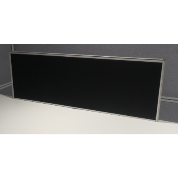 Black 1117w Desk Mounted Screen