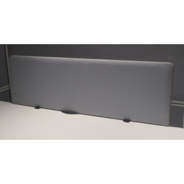 Grey 1200w Desk Mounted Screen